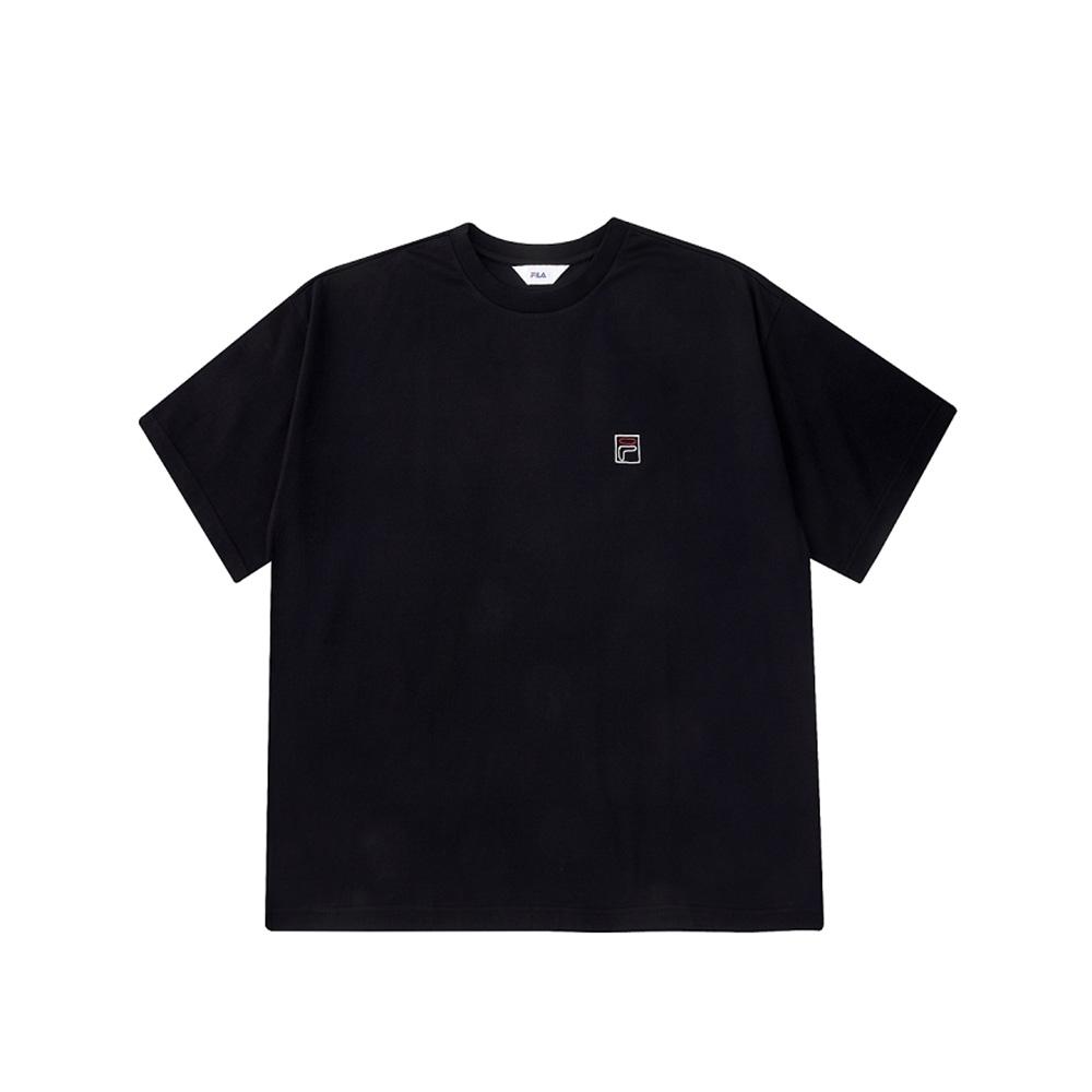 FILA 短袖圓領上衣-黑 1TEV-1506-BK