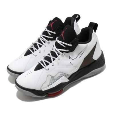 Nike 籃球鞋 Jordan Zoom 92 運動 男鞋 喬丹 氣墊 避震 舒適 包覆 球鞋 白 黑 CK9183106