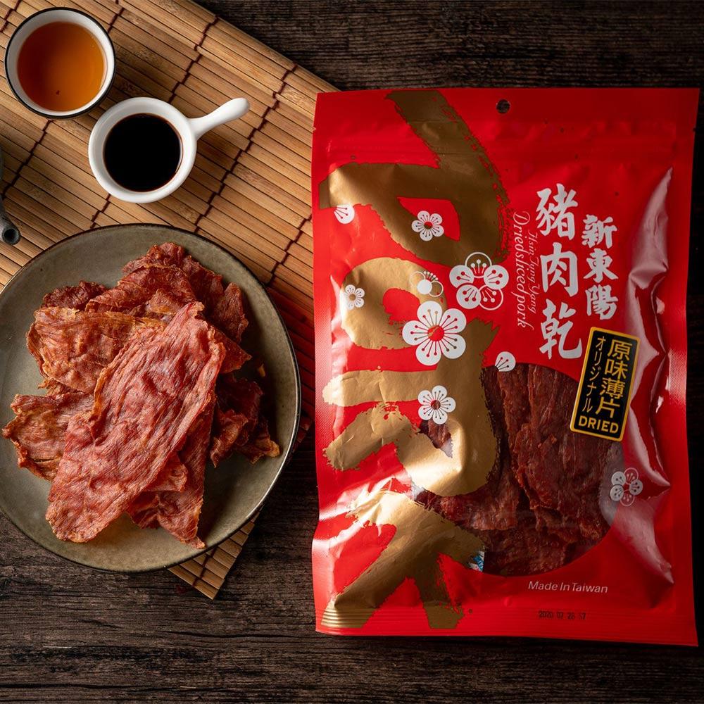 #新東陽 原味薄片豬肉乾(170g)
