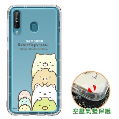 SAN-X角落小夥伴Samsung Galaxy A40s空壓保護手機殼疊疊樂
