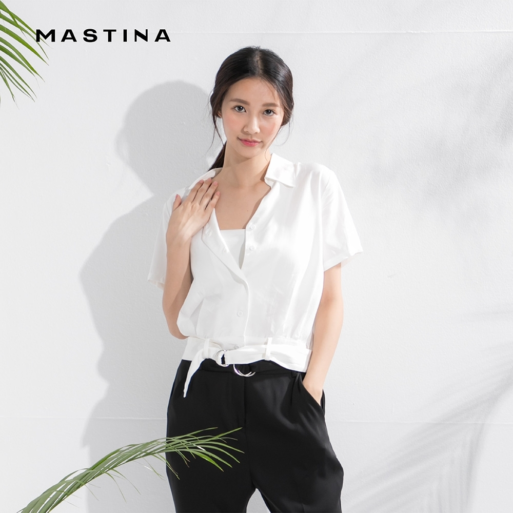 【MASTINA】經典復古款設計-襯衫 (二色)