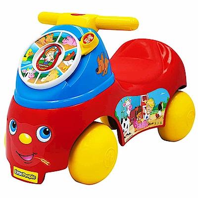 【麗嬰房】費雪Fisher-Price 【麗嬰房】Little people-歡樂農場騎乘玩具