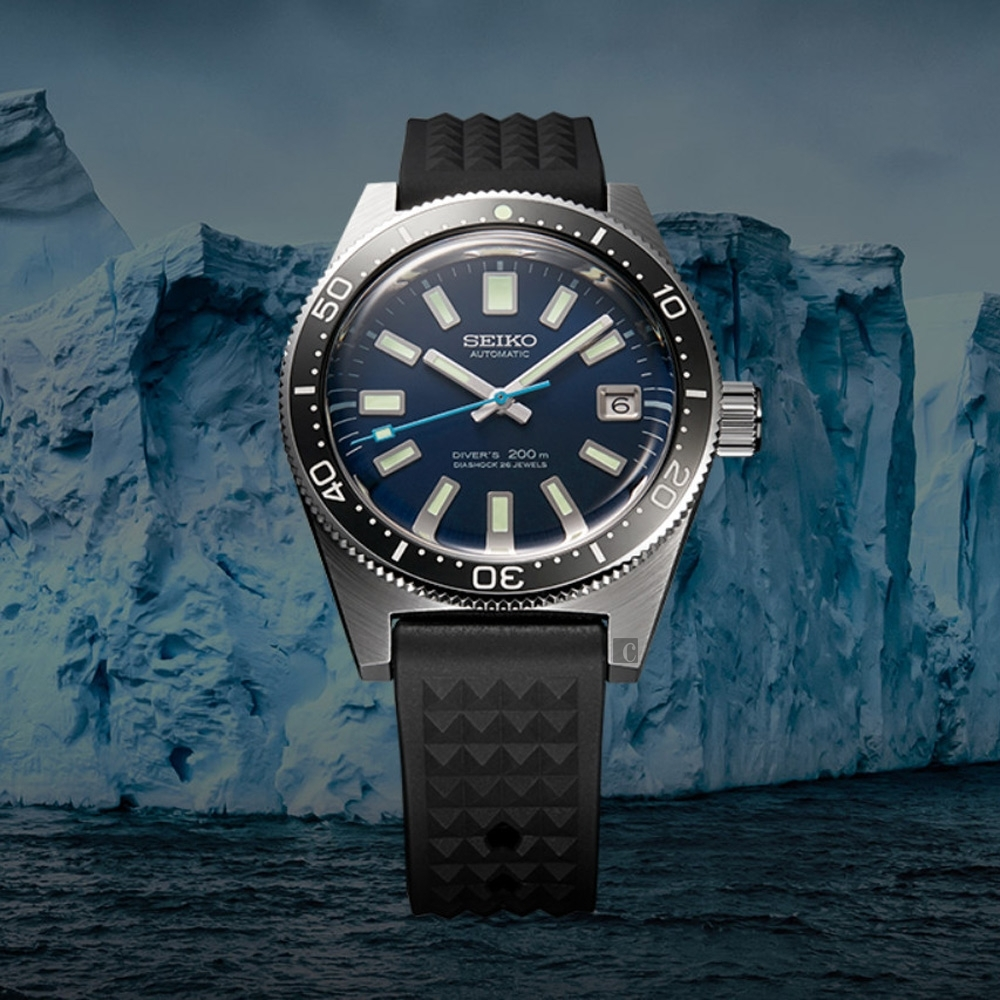 SEIKO 精工 潛水錶55週年限量款 Prospex 200米潛水機械錶(SLA043J1/8L35-01C0B)-39.9mm