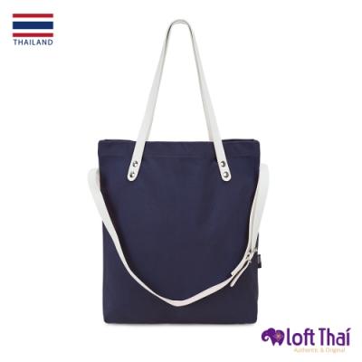 Loft THAI | 泰.三用隨行帆布托特包 藏青