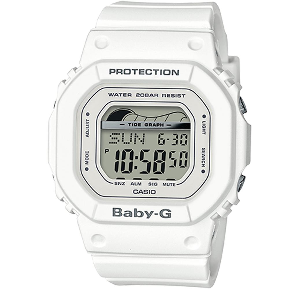 BABY-G夏季衝浪運動腕錶(BLX-560-7)白/40mm