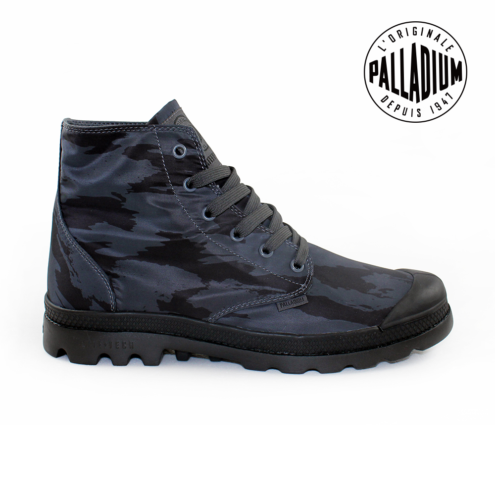 Palladium Pampa Puddle LITE WP防水靴-男-黑