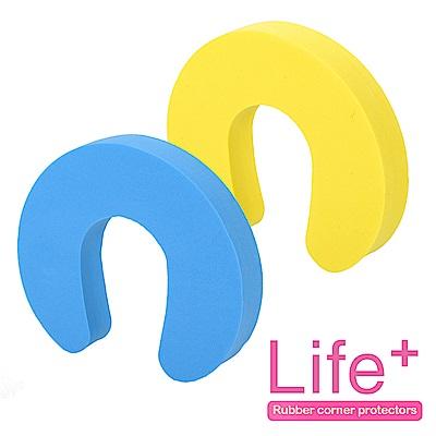 Life Plus 安全防護趣味造型門擋/門夾/門卡_2組4入(大C)