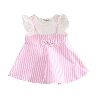 女童假兩件連身裙 k51056 魔法Baby