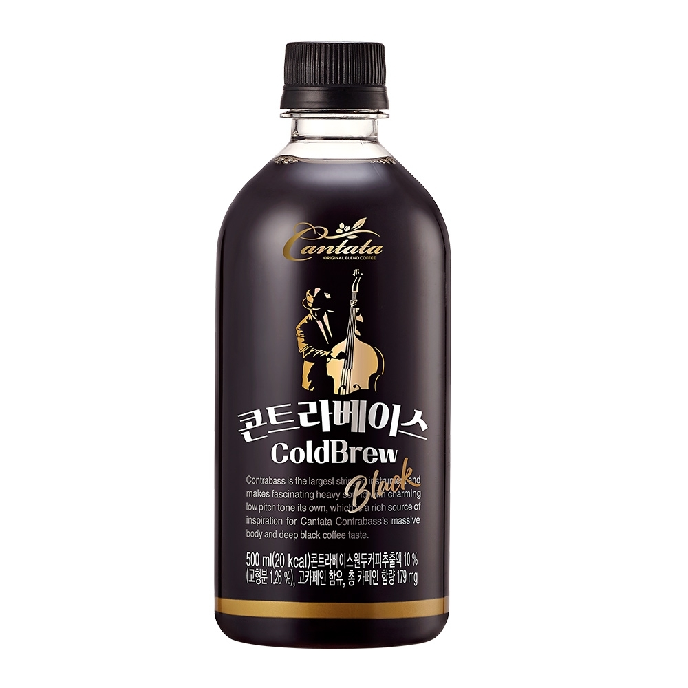 Lotte樂天 冷萃咖啡(500ml) product image 1
