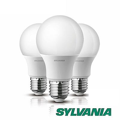SYLVANIA喜萬年 8W LED超亮廣角燈泡6入-黃光3000K