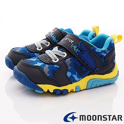 日本Carrot機能童鞋 2E玩耍速乾公園鞋 TW2335藍(中小童段)