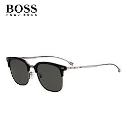 HUGO BOSS-BOSS 1028/F/S 時尚飛行墨鏡型男款 綠色