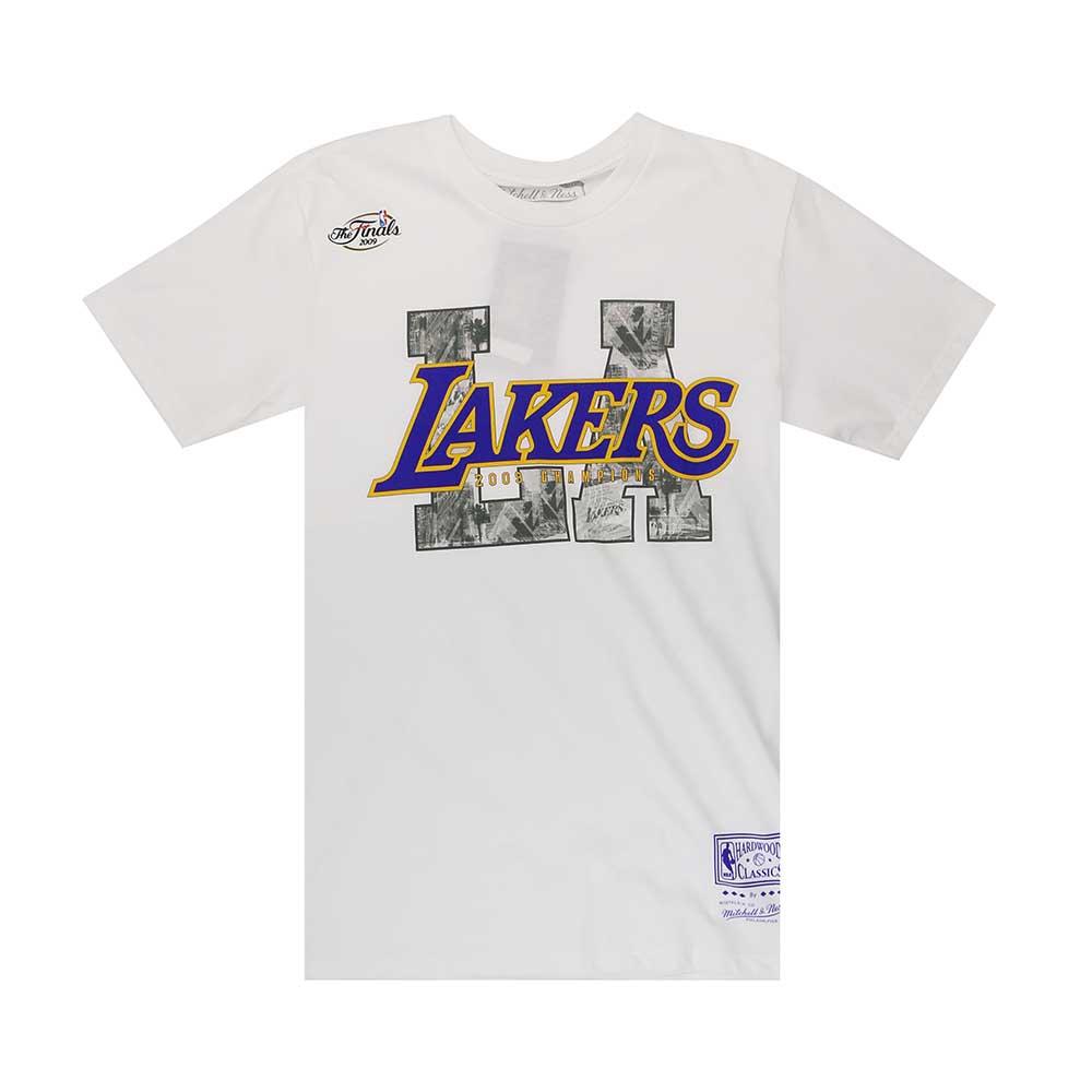 M&N NBA LA City 短袖T恤 湖人隊