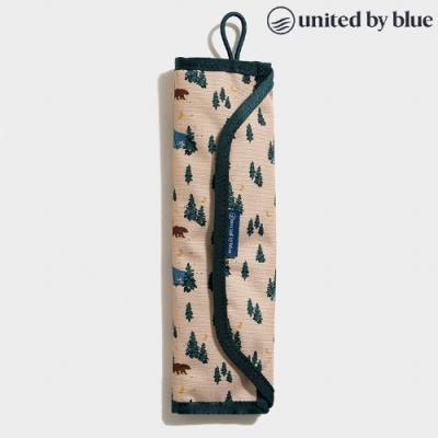 United by Blue 814-038 Utensil Kit 防潑水餐具收納包組 / 印花米色