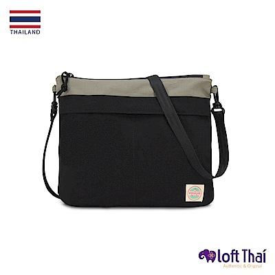 Loft THAI | 泰.防撕裂輕量隨行包 | Grey/black