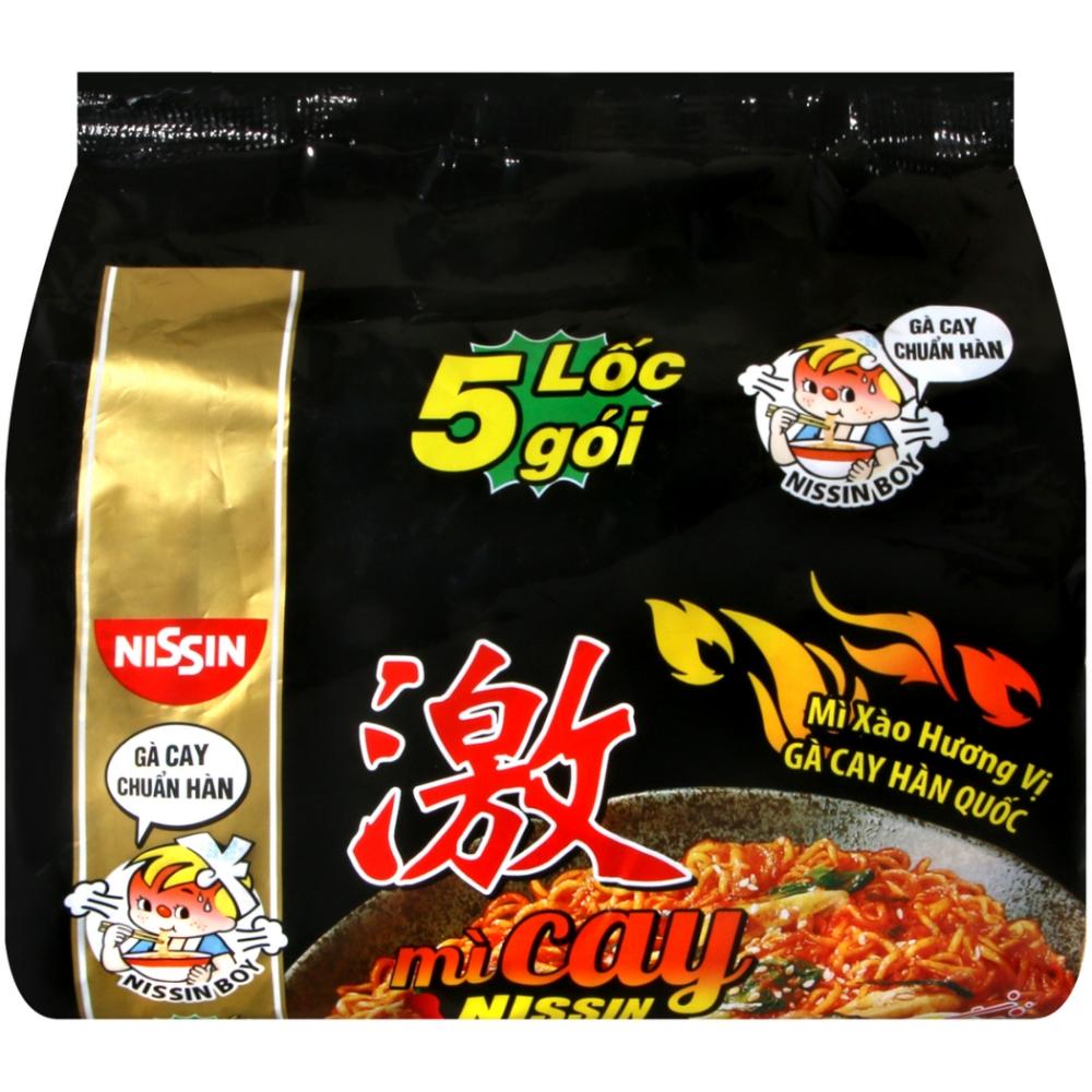 Nissin 韓式辣雞風味拌麵(71gX5包)