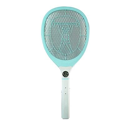 KINYO LED三層防觸電捕蚊拍電蚊拍(CM-2229)充電式