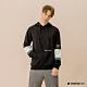 Hang Ten-男裝--撞色色塊連帽T恤-黑色 product thumbnail 1