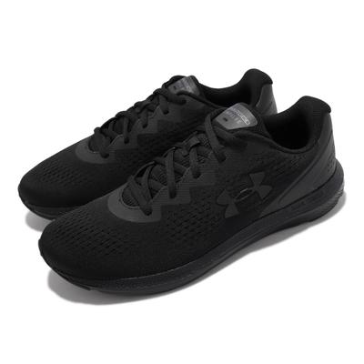 UA 慢跑鞋 Charged Impulse 2 男鞋 輕量 透氣 舒適 避震 路跑 健身 全黑 3024136002