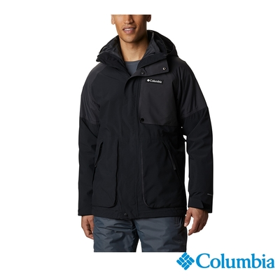Columbia 哥倫比亞 男款 - Omni-Tech防水保暖兩件式外套-黑色 UWE09840BK