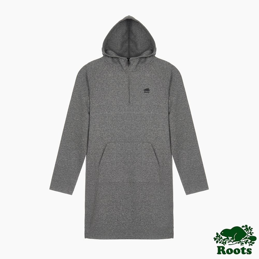 Roots 女裝- 城市悠遊系列洋裝-灰色