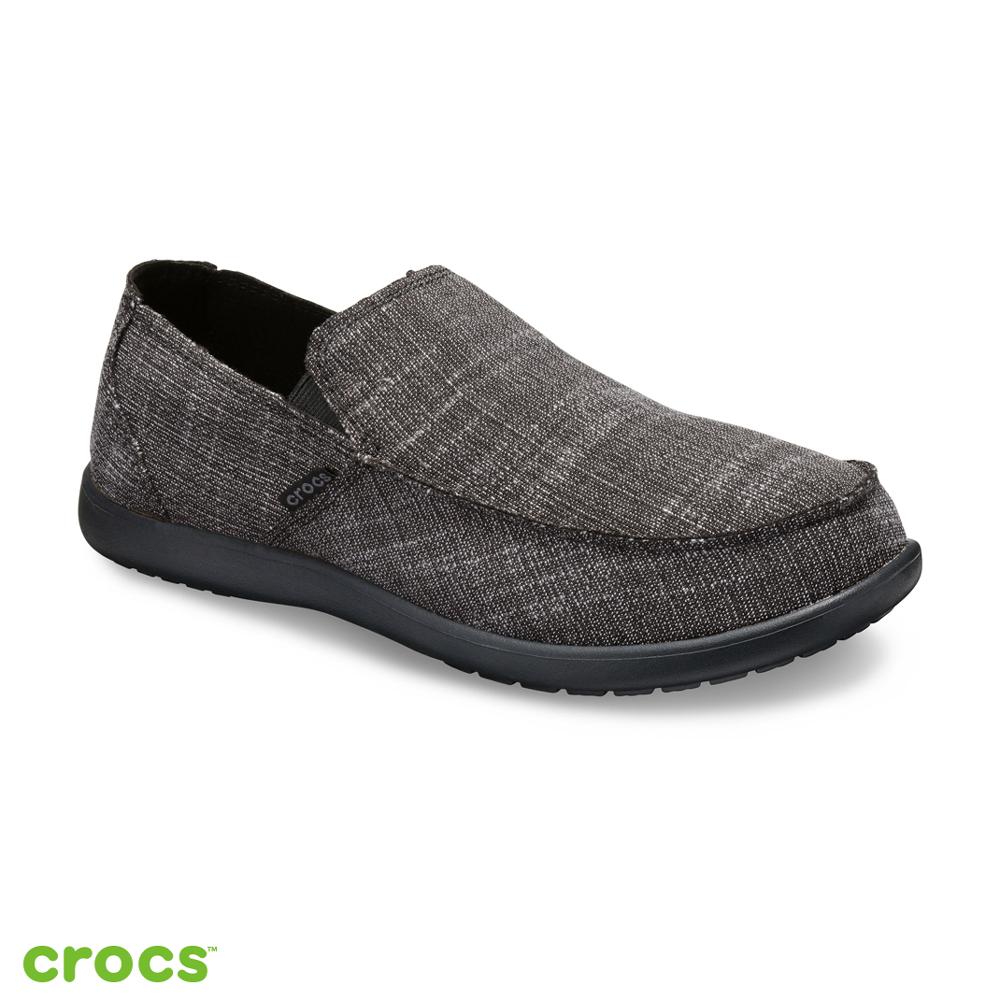 Crocs 卡駱馳 (男鞋) 聖克魯茲樂福鞋 205708-060