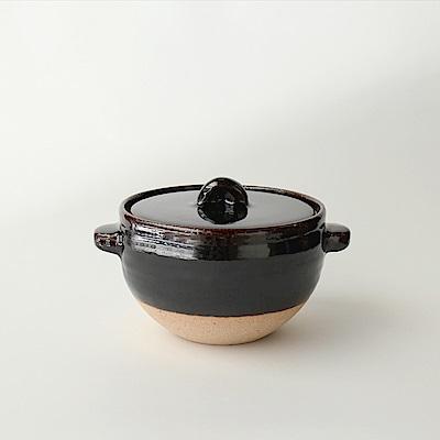 日本土樂窯 伊賀燒炊飯土鍋(18.5cm)(2合)