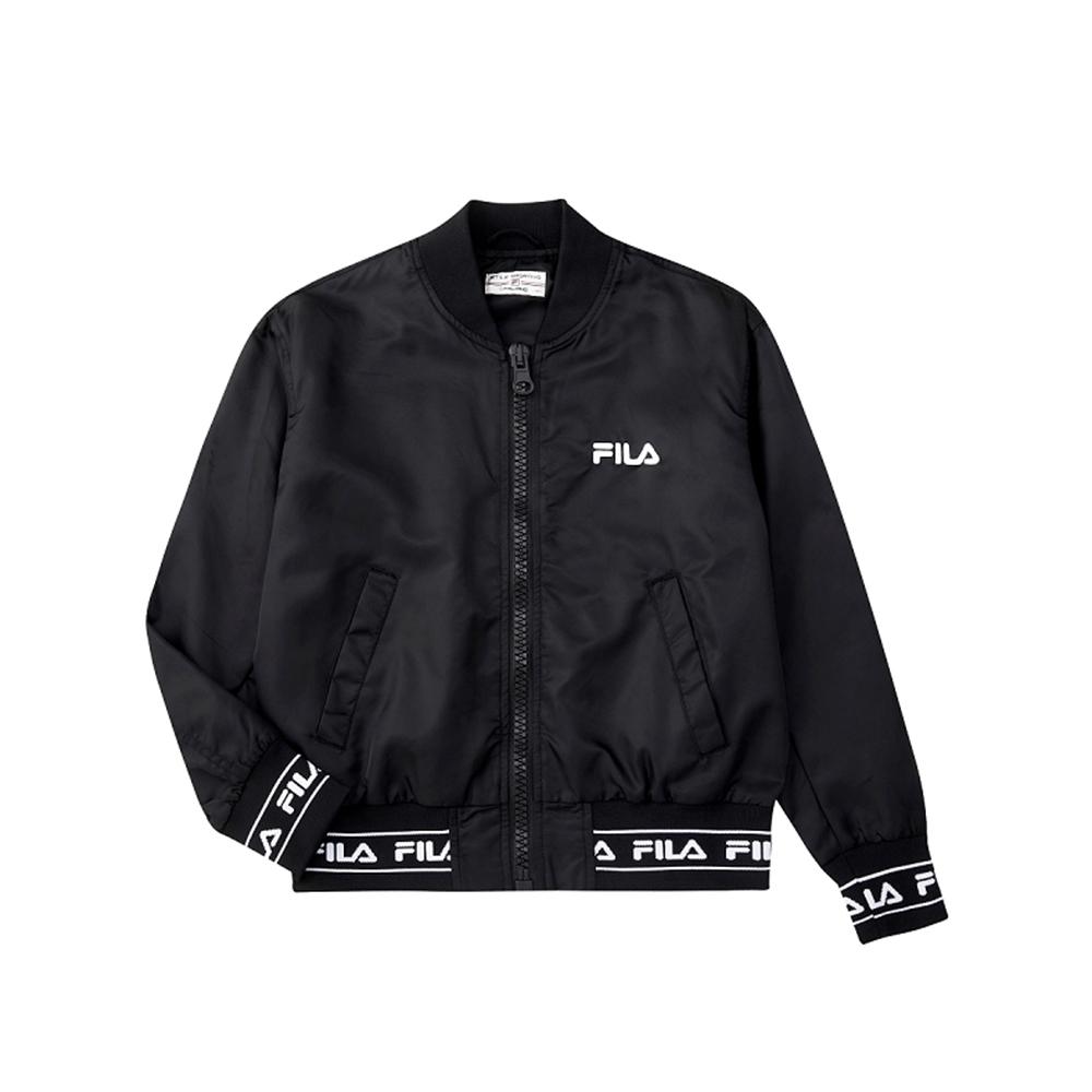FILA 女風衣外套-黑色 5JKU-5497-BK