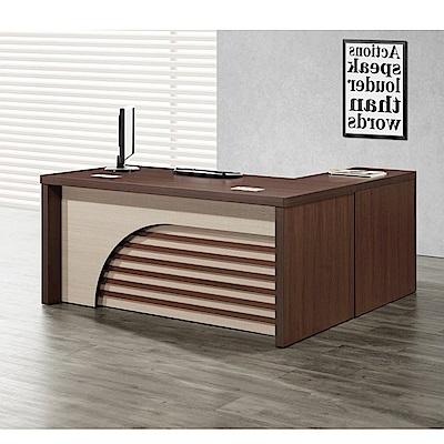 MUNA卡拉5.3尺辦公桌(書桌)組(含側櫃,活動櫃) 160X155X77cm