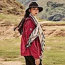 ADISI 女二件式防水透氣保暖外套(內件刷毛)AJ1821011【桃紫】
