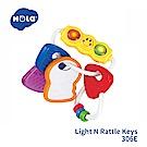 香港HOLA幼兒聲光玩具-幼兒鑰匙環固齒器 306E