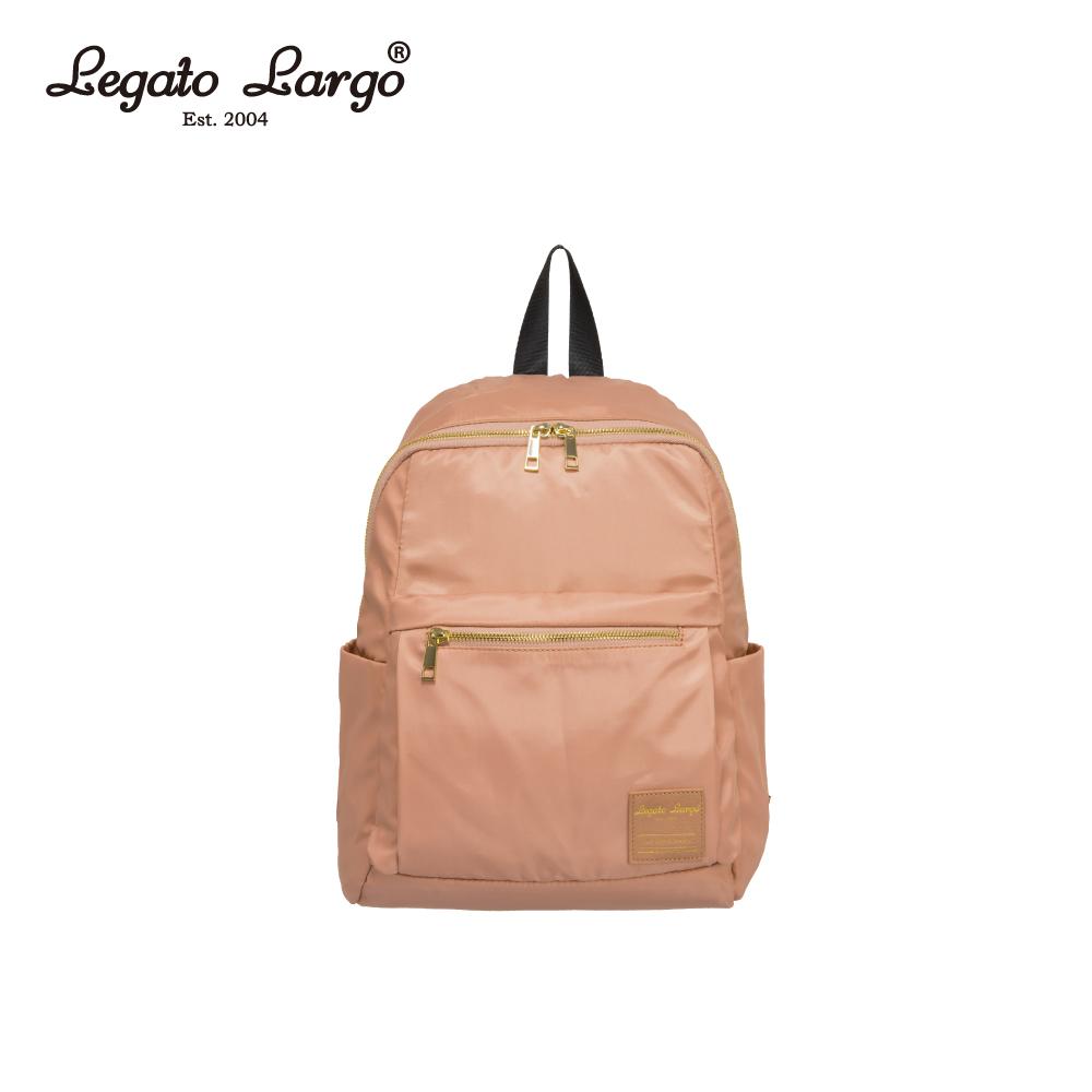 Legato Largo 防潑水微光澤後背包-粉 LH-E0722PBE