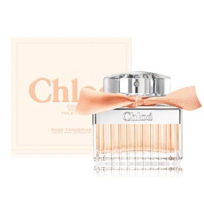 *Chloe 沁漾玫瑰女性淡香水 Rose Tangerine 30ml EDT-公司貨