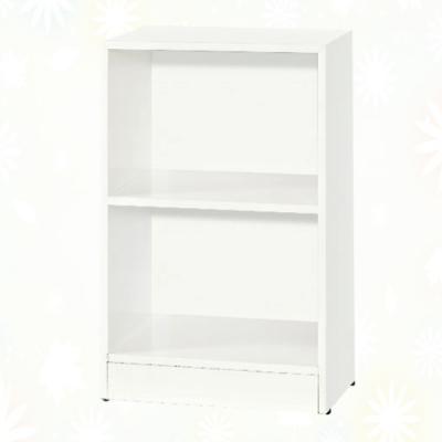 文創集 希莉 環保1.4尺南亞塑鋼開放二格置物櫃/收納櫃-43.4x33.7x79cm免組