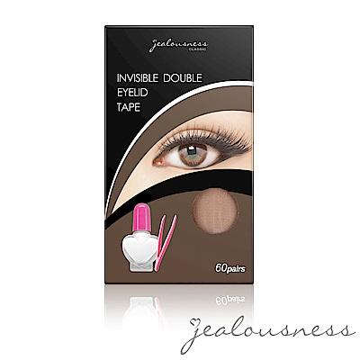 Jealousness婕洛妮絲 蕾絲網狀隱形雙眼皮貼(60對入)