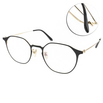 NINE ACCORD眼鏡 造型貓眼款/黑-金 #PLACO-FLATA2 C1