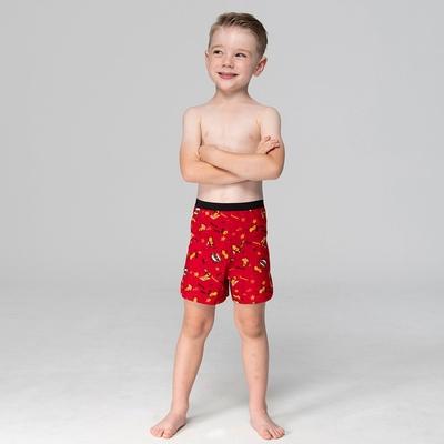 DADADO-好事花生 140-160男童內褲(紅) 品牌推薦-舒適寬鬆