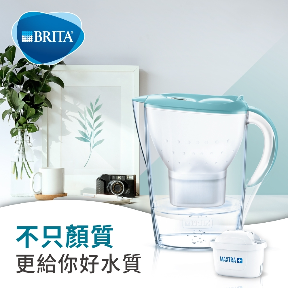 [新品上市] 德國BRITA Marella 3.5L馬利拉濾水壺(內含1入濾芯)