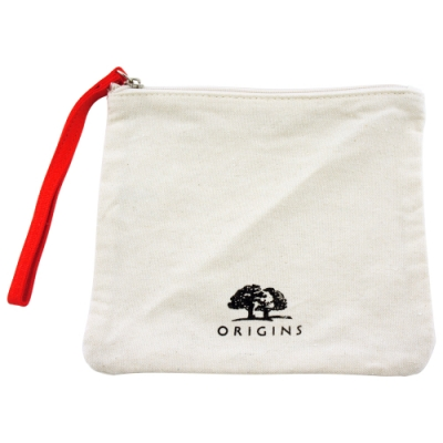 ORIGINS品木宣言 元氣十足帆布化妝包