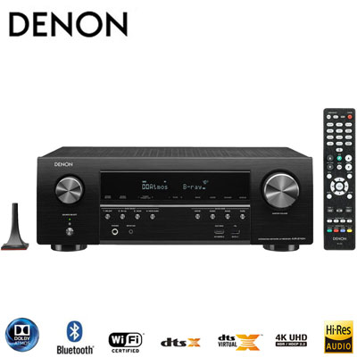 DENON 7.2聲道Dolby AtmosAV環繞擴大機 AVR-S740H