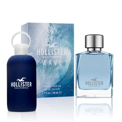 Hollister 加洲海浪男性淡香精50ml(贈Hollister冷水壺)