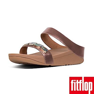 FitFlop SHELLSTONE雙帶涼鞋玫瑰金