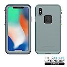 LIFEPROOF iPhone X專用 防水防雪防震防泥超強保護殼-FRE (灰)
