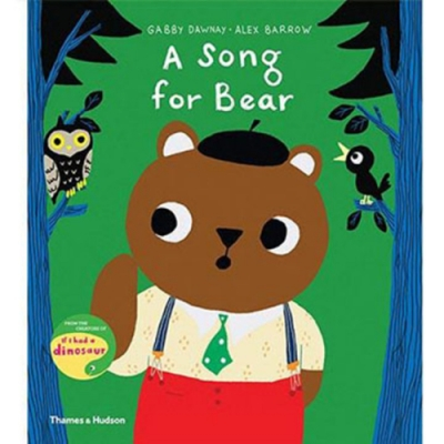 A Song For Bear 小熊學唱歌精裝繪本