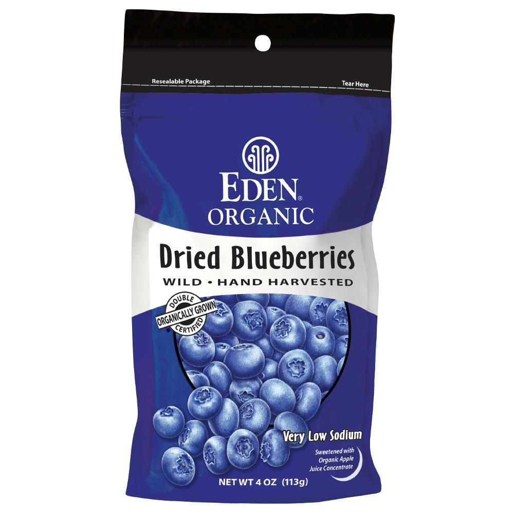 EDEN 有機野生藍莓乾113g