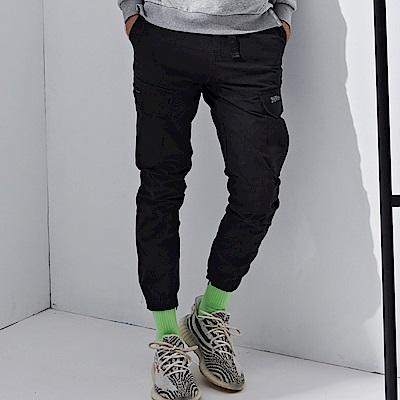 CACO-工作縮口長褲-(兩色)-男【QNC047】
