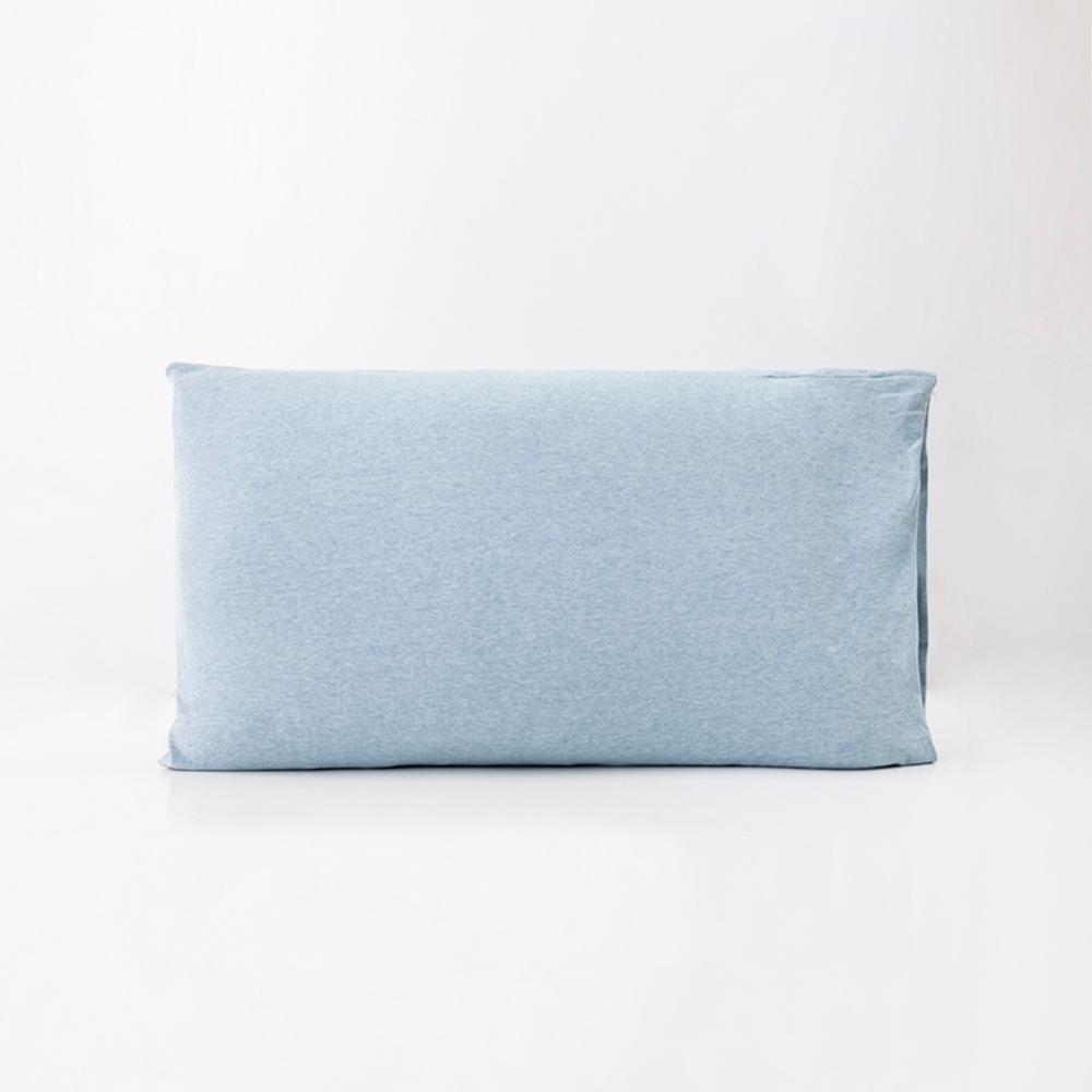 ROOTS有機棉枕套(一組二個)-藍