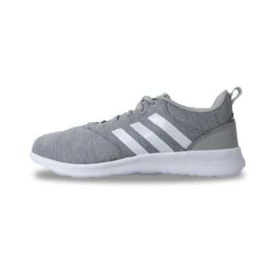adidas 休閒鞋 緩震 運動 女鞋 灰 FV9610 QT Racer 2