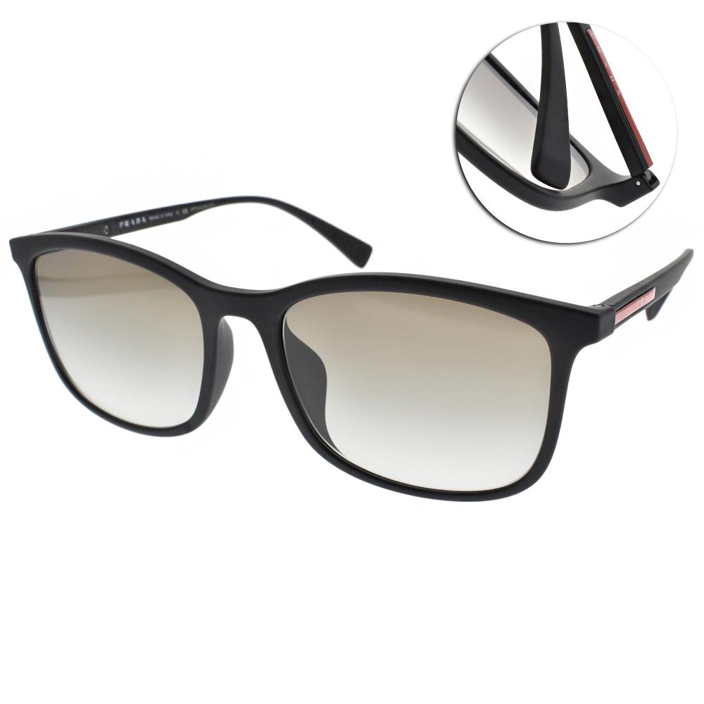 PRADA太陽眼鏡 百搭方框/黑#SPS01TF DG00A7