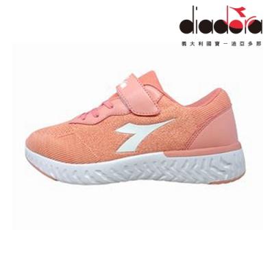 Diadora 歐風運動童鞋 大童 加寬楦 粉 DA9AKC7892